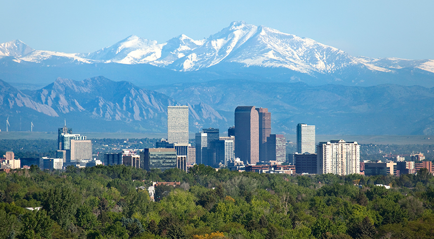 Denver, Colorado skyline