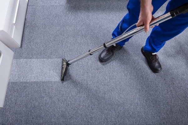 Deep Carpet Cleaning Removes Built-in Dirt