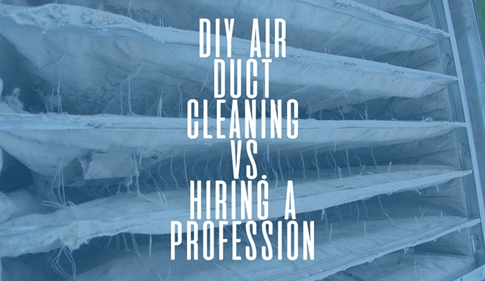 DIY air duct cleaning vs hiring a professional